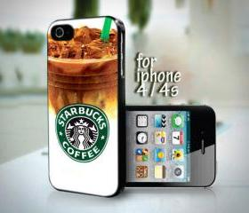 DP 0611 STARBUCKS Chilled Coffee Photo design for iPhone 4 or 4s case